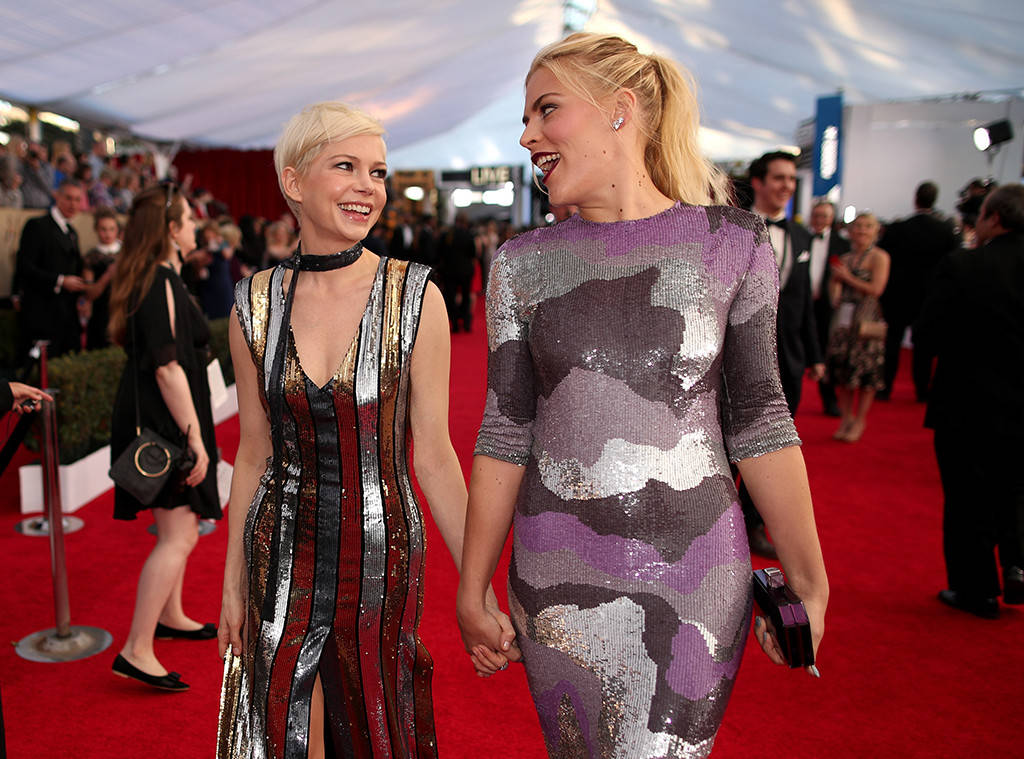 Michelle Williams Busy Phillips
